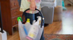 nettoyer poubelle produits interieur